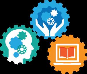 library frameworks logo