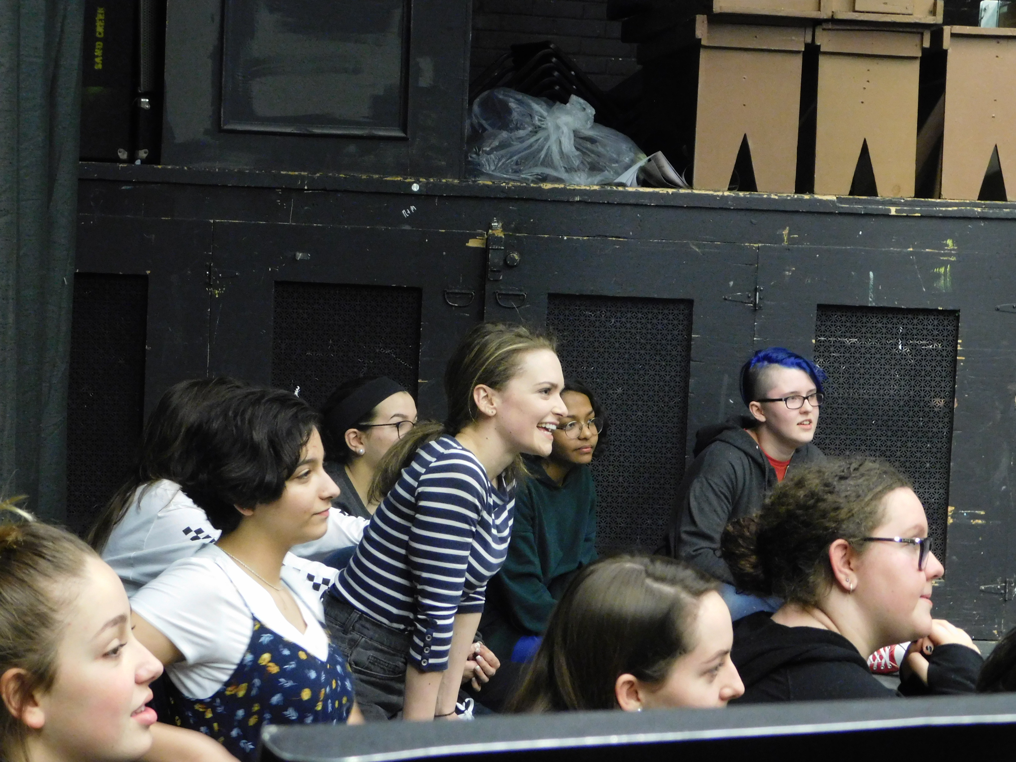 group of actors watch workshop