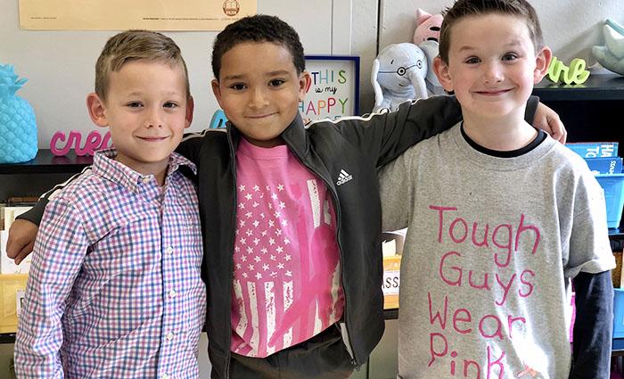 3 boys together