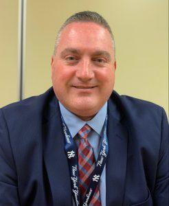 Portrait of new superintendent of schools Dr. David Perry