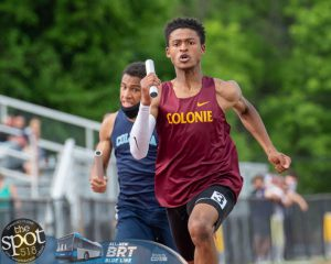 Mr. De Silva Jr. competing for the CCHS Track and Field team.